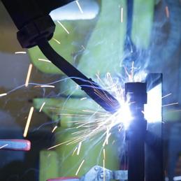 saldatura robotizzata metalli